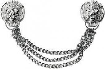 Löwenkopf-Hammerkette 3tlg. Dux Bild 1