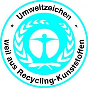 Baueimer Polyethylen- Regeneratg. schwarz 10 l Bild 2