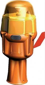 Blinklichtaufs. für Skip.gelb leuchtend STRECKE Bild 1