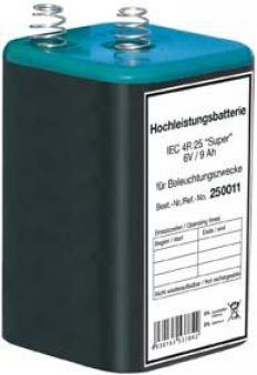 Blockbatterie 6V/9Ah Bild 1