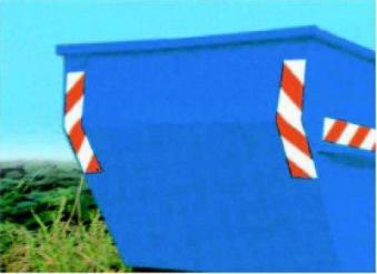 Containermarkierung 141x705mm - 1.Satz Bild 1