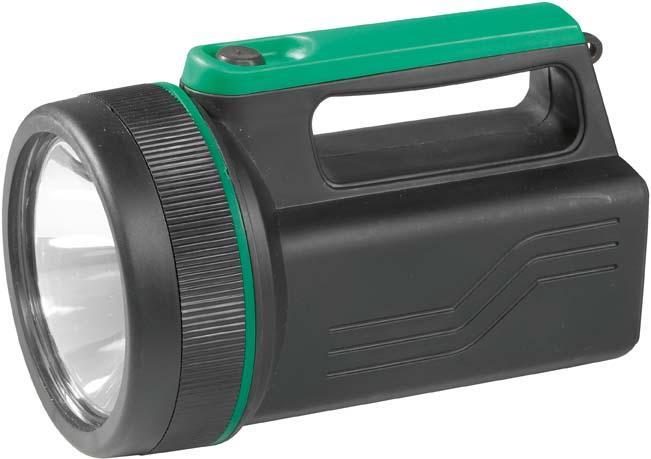 Handscheinwerfer LED für Blockbatterie Bild 1