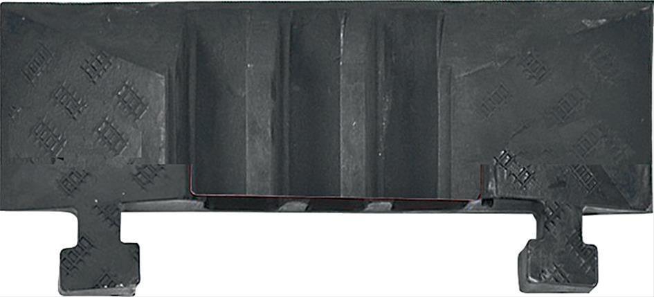 Kabelbrücke groß Abschlußelement / Zapfen STRECKE Bild 1