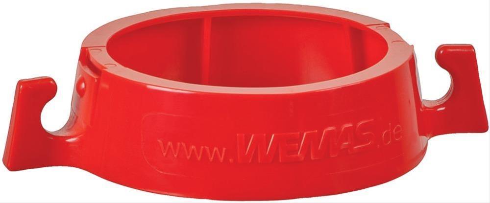 Kettenhalter rot zum Aufstecken auf Leitkegel Bild 1