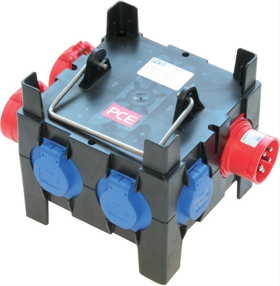 Kunststoff-Steckdosenver.M-Imst 16/2-4/OF Bild 1