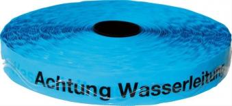 Ortungsband 250m Achtung Wasserleitung Bild 1