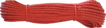 Polypropylen-Seil Ø 10mm 20m auf Docke, orange 20 m entspricht 1 Stück Bild 1