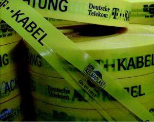 Trassen-Warnband, T-Kabelmit Sollbruchstellen Bild 1