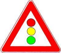VKZ.131 Dreieck 900mm Lichtzeichenanlage Bild 1