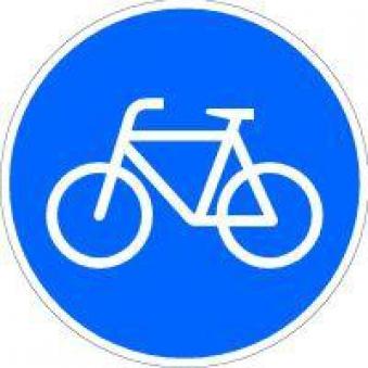 VKZ.237 Ronden 600mm Sonderweg Radfahrer Bild 1