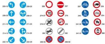 VKZ.258 Ronden 600mm Verbot für Reiter Bild 2