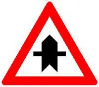 VKZ.301 Dreieck 900mm Vorfahrt Bild 1