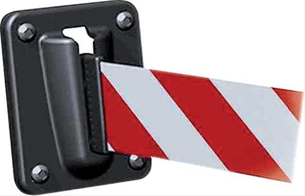 Wandclip, magnetisch Kunststoff, schwarz STRECKE Bild 1