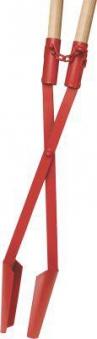 Erdlochausheber Jumbo E-Stiel, rot, Gr. 1 Ideal Bild 1