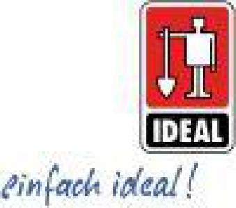 Erdlochausheber Jumbo E-Stiel, rot, Gr. 1 Ideal Bild 2
