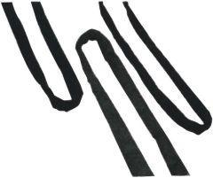 Rundschlinge Nutzlänge 1m einfache Tragfähigkeit 4000 kg grau Bild 1