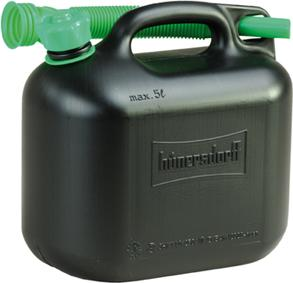 Benzinkanister 5l schwarz Hünersdorff Bild 1