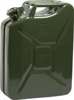 Benzinkanister Stahlbl. 20l GS+UN-gepr. Oliv Bild 1