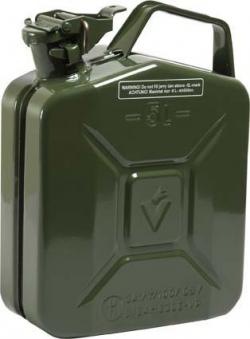 Benzinkanister Stahlbl. 5l Oliv Bild 1