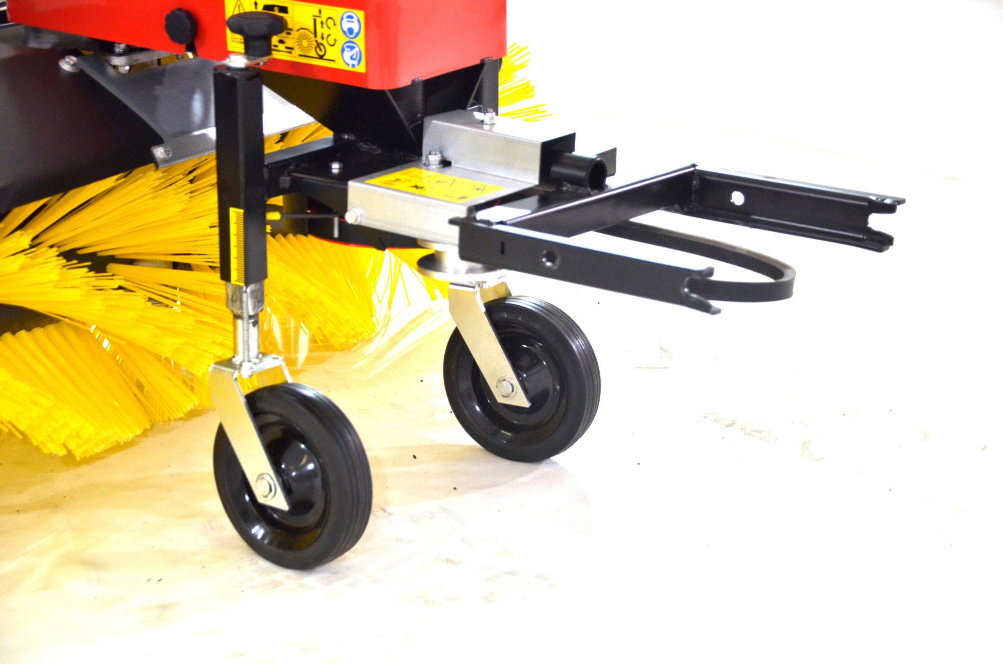 Anbau Kehrbürste RKV 1000 für Motoreinachser Raptor Breite 100cm Bild 3