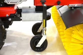 Anbau Kehrbürste RKV 1000 für Motoreinachser Raptor Breite 100cm Bild 4