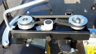 Anbau Kehrbürste RKV 1000 für Motoreinachser Raptor Breite 100cm Bild 6