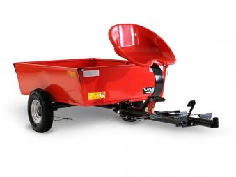 Anbau Kippanhänger ANV-200 für Motoreinachser Raptor Bild 1