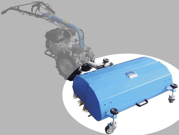 Kehrmaschine GKM 900 2 in 1 Güde Anbaugerät für Motoreinachser GME Bild 3
