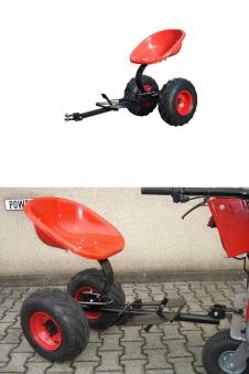 Powerpac Anhängesitz für Einachser KAM5 Bild 1
