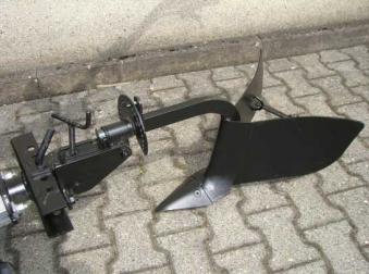 Powerpac Häufelpflug Einachser MAK17 Bild 1