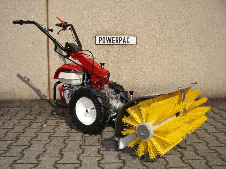 Powerpac Kehrbesen als Kehrmaschine für MF3 Einachser Basismodul Bild 2