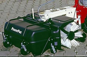 Powerpac Kehrbesen mit Behälter als Kehrmaschine für MC140 und MK85 Bild 1