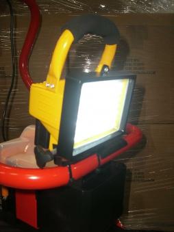 Powerpac LED Strahler / Akku Scheinwerfer für Einachser KAM5 70LED`s Bild 1
