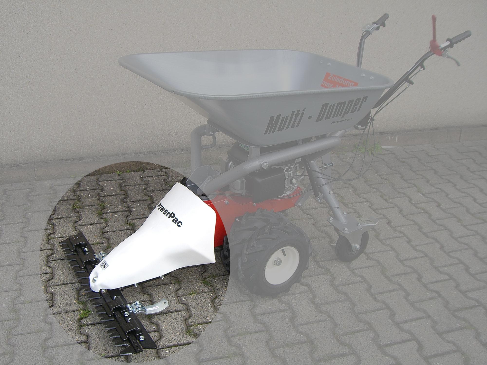 Powerpac Mähbalken 104 cm als Grasmäher für MC140 und MK85 Bild 1