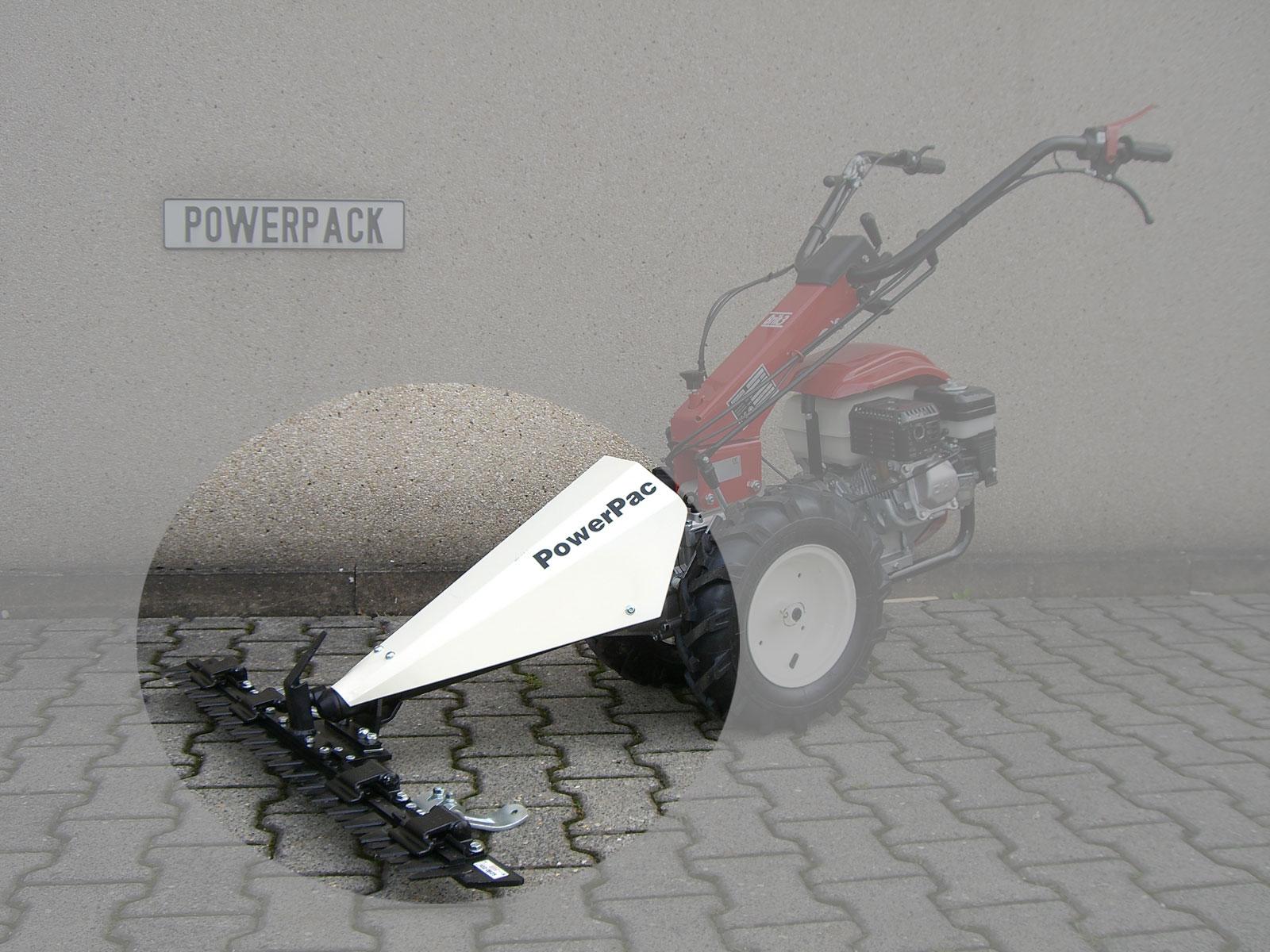 Powerpac Mähbalken 122cm als Grasmäher für MF3 Einachser Basismodul Bild 1