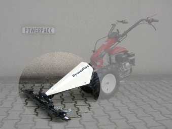 Powerpac Mähbalken 87 cm als Grasmäher für MF3 Einachser Basismodul Bild 1