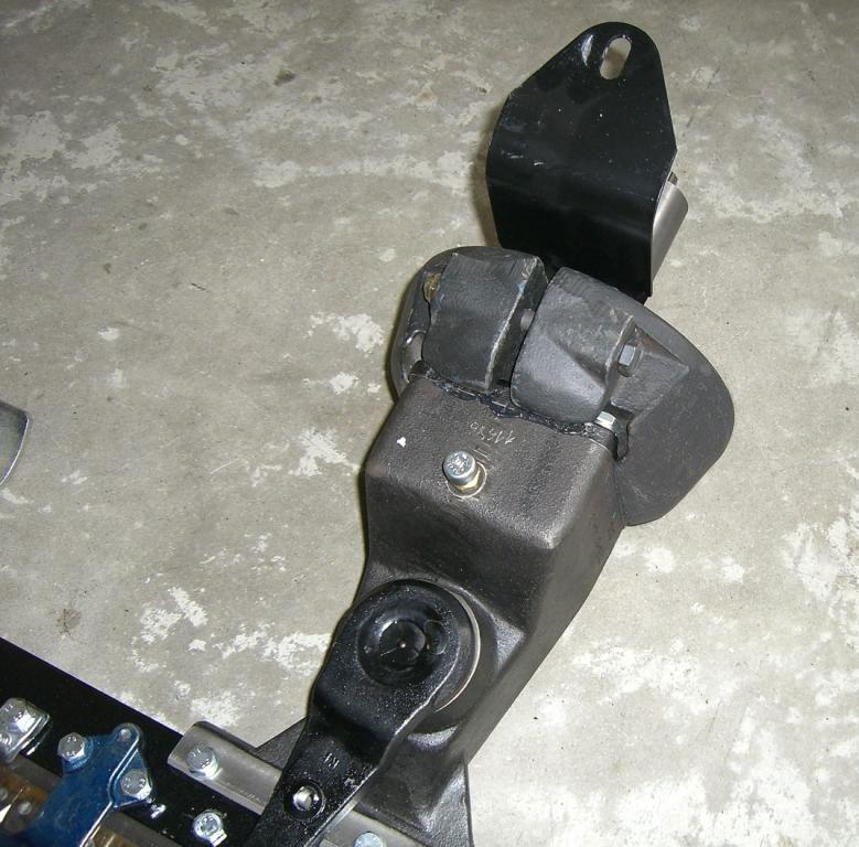 Powerpac Mähbalkengewicht für Einachser MAK17 Bild 1