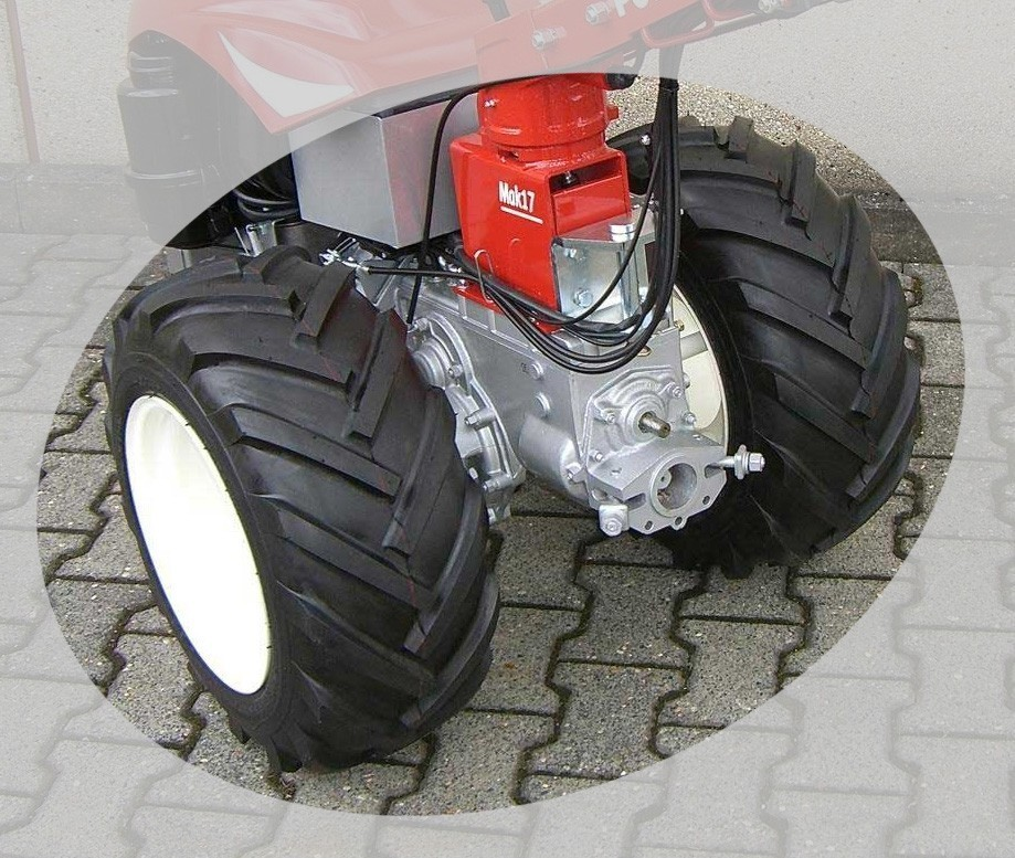 """Powerpac Reifen / Breitbereifung Einachser MAK17 Größe 23/10.50-12"""" Bild 1"""