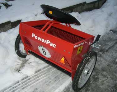 Powerpac Salz- und Düngestreuer Einachser MAK17 Bild 2