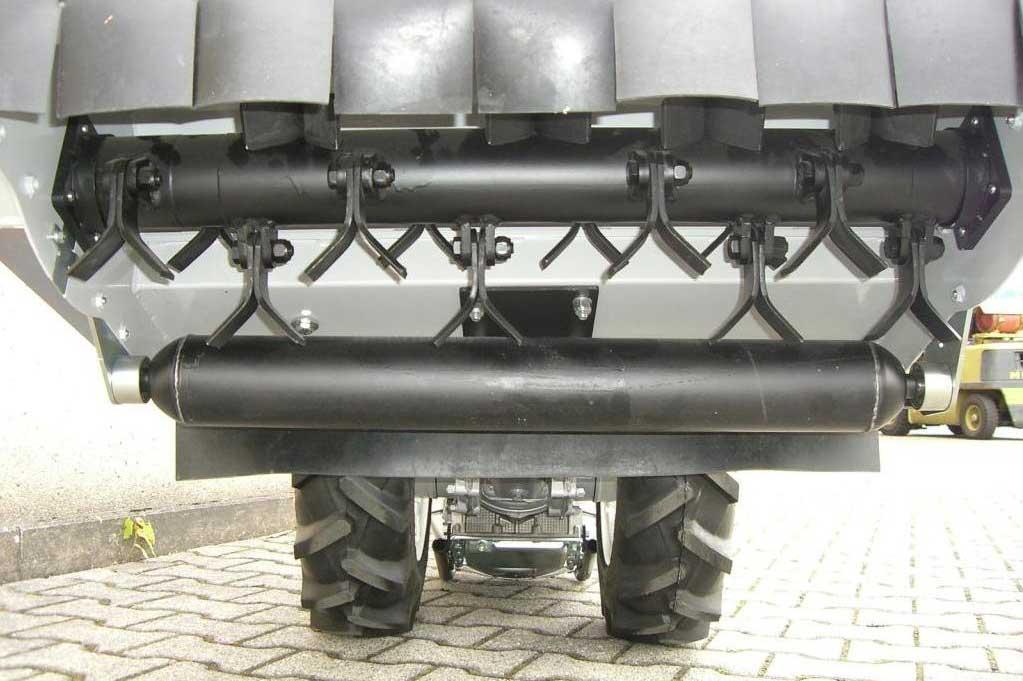 Powerpac Schlegelmulcher Anbaugerät für Einachser MAK17 80cm Bild 2