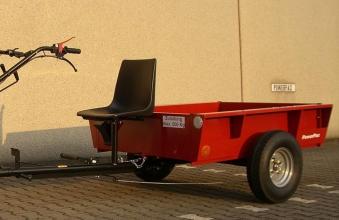 Powerpac Anhänger für Einachser Basismodul KAM5 Nutzlast 500kg
