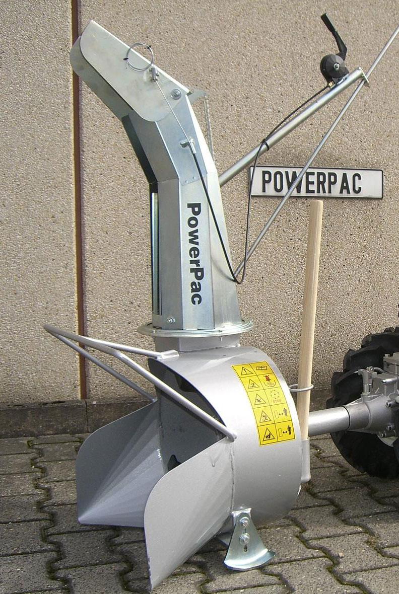 Powerpac Schneefräse für MF3 Einachser Basismodul Bild 1
