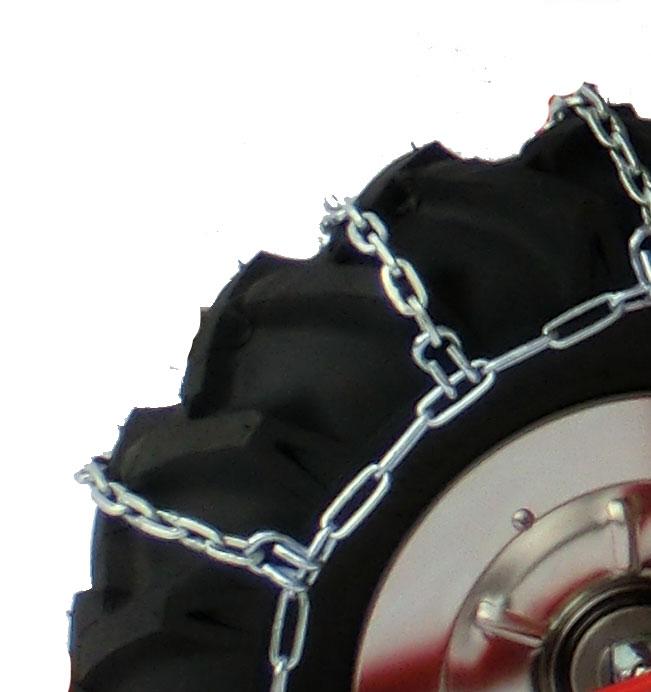 Powerpac Schneeketten für Einachser Basismodul BRIK3 Bild 1