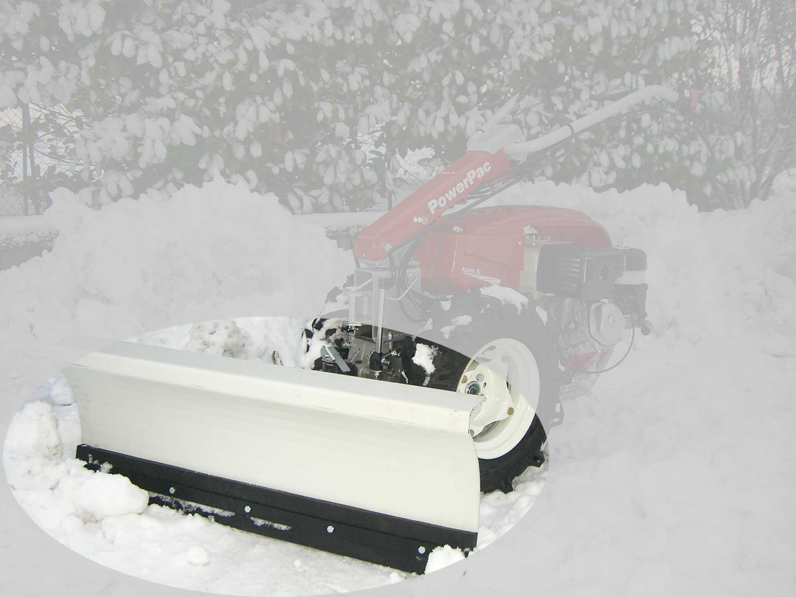 Powerpac Schneeschild für Einachser KAM5 Breite 100cm Bild 1
