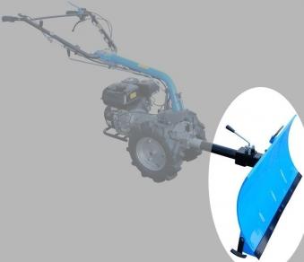 Schneeschild GSS 850 Anbaugerät für Güde Motoreinachser GME 6,5 PS Bild 2