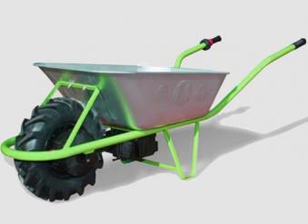 Elektroschubkarre MOTOkarre Standard 250W 100L verzinkt Bild 3