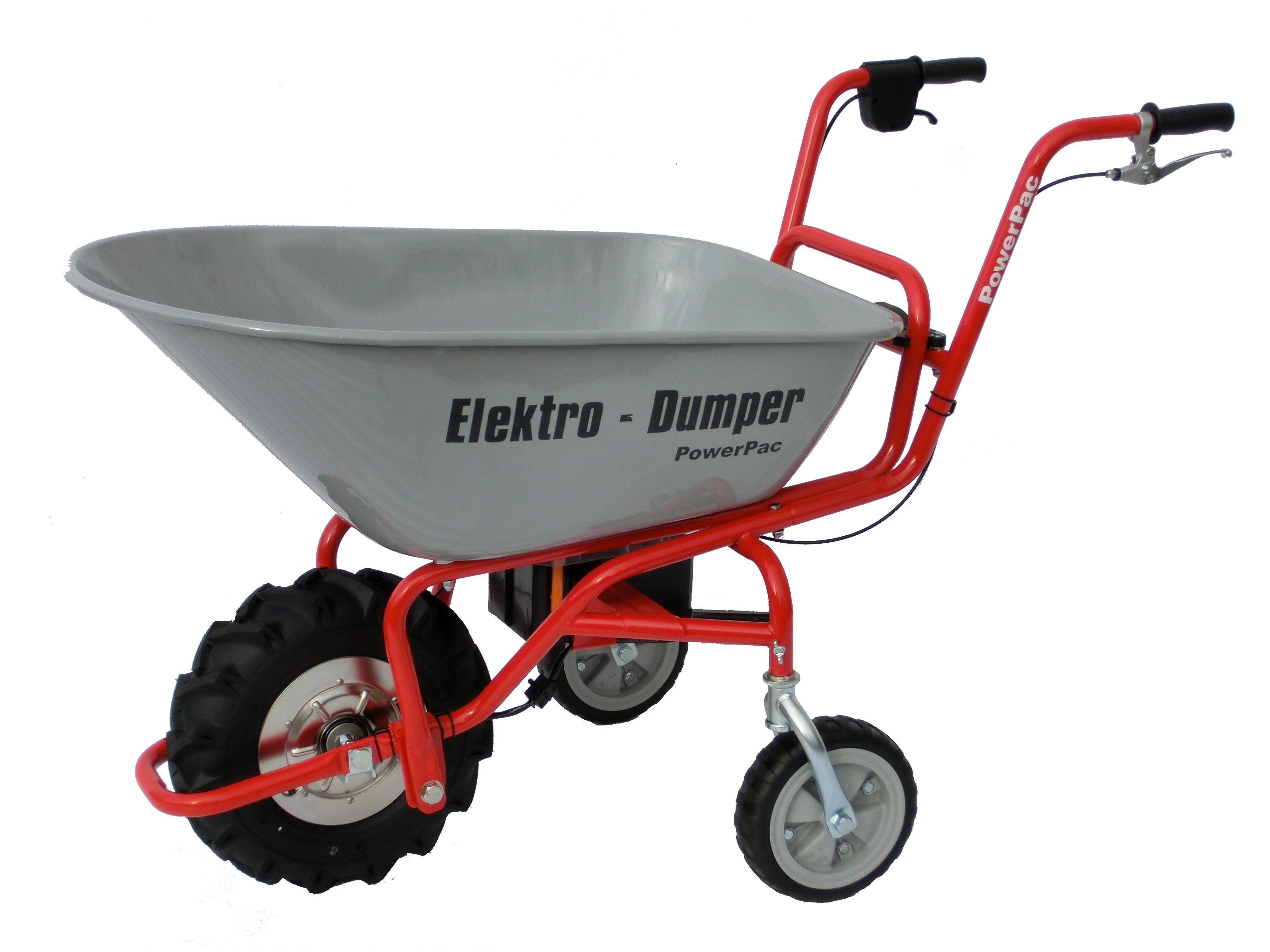 Powerpac Elektro-Dumper / Schubkarre Elektroantrieb ED120 unmontiert Bild 1