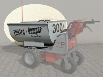 Powerpac Futterwanne 300 Liter für Multi-Dumper MCE 400 Bild 1