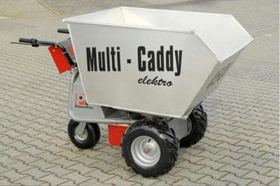 Powerpac Leichtgutwanne 450 Liter für Multi-Caddy elektro MCE400 Bild 1