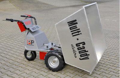Powerpac Leichtgutwanne 450 Liter für Multi-Caddy elektro MCE400 Bild 2